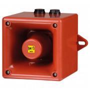 Sirène électronique 112dB à 32 sons - Sirène électronique 112dB IP66 synchronisée 32 sons