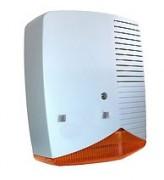 Sirène extérieure auto alimentée avec flash 105dB - Sirène extérieure + flash ABS ELKRON NFA2P - HPA700P