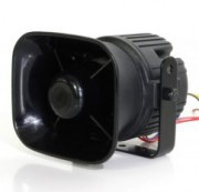 Sirène véhicule prioritaire multi tonalité - Puissance sonore équivalente à une sirène 100 watts