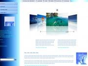 Site internet préconçu professionnel - Package internet et son interface de mise à jour
