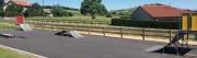 Skate park public - Ossature et surface de roulement en acier inoxydable