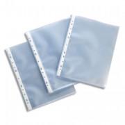 SMEAD Boîte de 100 pochettes perforées A4 polypropylène lisse 12/100e incolore - ATLANTA