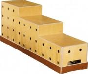 Socle escalier - 3 hauteurs disponibles : 33, 48 et 63 cm