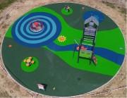 Sol amortissant aires de jeux - Spécialisé dans la mise en oeuvre de sol amortissant coulé en place