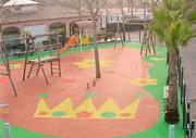 Sol de sécurité aire de jeux - Sol récréatif