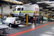 Sol garage professionnel en PVC - Dalle sol PVC garage pro