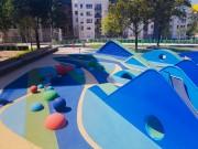 Sol souple aire de jeux sur mesure - Sol pour aire de jeux et espaces de loisirs