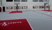 Sol terrain basketball - Terrain standard adulte 32 x 19 soit 608 m²
