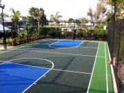 Sols multisports d'extérieur - Soccer/Hand/Basket/tennis/badminton/volley...