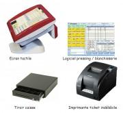 Solution caisse tactile pour pressing - Système complet de caisse informatique - gestion spéciale pressing