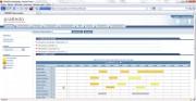 Solution de mobilité du personnel nomade - Interface web permettant la création et planification en temps réel