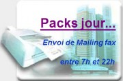 Solution Fax mailing - Packs jour - 50 000 fax