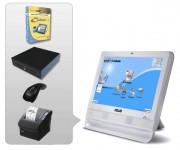 Solution gestion de caisse - Pack avec : Logiciel - Ordinateur - Imprimante ticket de caisse - Tiroir caisse