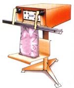 Soudeuse à impulsion sur pied - Longueurs de soudure disponibles : 660 mm, 9000 mm, 12000 mm