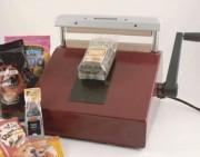 Soudeuse alimentaire manuelle - Longueur de soudure : 250 mm - Largeur de soudure : 6 mm