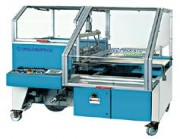 Soudeuses en L automatiques 2035 x 1705 - Encombrement machine L x l x h : 2035 x 1705 x 1200 mm