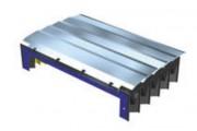 Soufflet à lamelles acier fixes - Base est soudée par haute fréquence