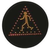 Optique de feux piétons et priorité - Foyers à LED adaptable au feu existant (Ø200 ou Ø300mm)