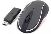 Souris optique noire sans fil - Souris optique sans fil - Noire USB