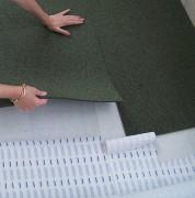 Sous-couche adhésive pour revêtement sol - Largeur rouleau: de 60 à 180 cm - Longueur: 50 m - Epaisseur: 2 mm