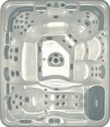 Spa 7 places transportable pour professionnel - Confort et Plénitude : 69 jets - Dimensions 274x274x94cm