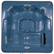 Spa portable pour professionnel 5 places - Détente en famille : 32 ou 52 jets - Dimensions 208x208x91cm