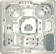 Spa privé transportable - Confort et Plénitude : 51 jets -  Dimensions 234x234x94cm