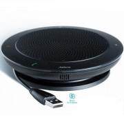 Speakerphone Jabra Speak 410 MS - Haut-parleur d'audioconférence, optimisé Skype for Business