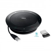 Speakerphone Jabra Speak 510 Plus MS - Haut-parleur de conférence pour PC et mobile, optimisé Skype for Business