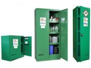 Spécial phytosanitaire - Armoire de stockage - Capacité de rétention : 122 L - Armoire de sécurité 2 portes conçue pour stocker les produits phytosanitaires - Volume de stockage : 300 L