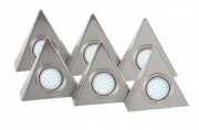 Spots triangulaires LED - Type 6pcs x 2.4W - 12pcs SMD5050