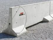 Stabilisateur béton avec passage de câble - Finitions : Béton brut | Matricé | Peint ou lasuré