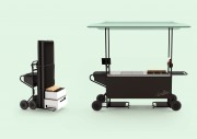 Stand dinettes pliable - Stand montable & démontable