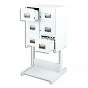 Stand fixe pour fichier à tiroirs format A5 en largeur