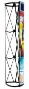 Stand parapluie colonne - Dimension (Lxh) : 637 x 2300 mm x 3p