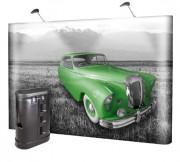 Stand parapluie droit 3x2 panneaux - Dimension (Lxh) : 670 x 1550 mm x 2p - 750 x 1550 mm x 3p