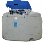 Station Blue cube 5000 L - Débit : 32 l/min - Dim (l x l x h) : 240 x 230 x 180 cm