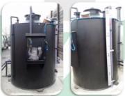 Station d'épuration biologiques des eaux hydrocarbures - Réacteur biologiques des eaux hydrocarbures