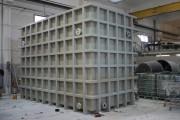 Station d'épuration compacte - En acier et fibre de verre