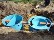 Station d'épuration d'eau - Station biologique à boues activées