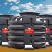Station d'épuration eaux usées à cuve rotomoulé - Assainissement compacte 1 à 6 EH