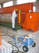 Station d'épuration filtre-presse à chambre - Communes