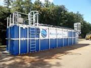 Station d'épuration pour container maritime - Gamme container