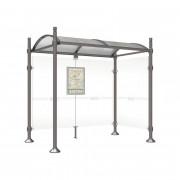 Station de bus ronds - Longueur (mm) : 2500 -5000 - modèle Durance