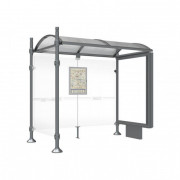 Station de bus ronds - Longueur : 2500 ou 5000 mm