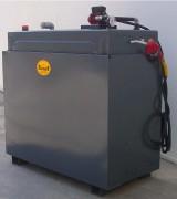Station de distribution de carburant 1400 Litres - Contenance (L) : 700 - 1150 - 1400