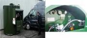 Station de distribution de carburant à verrou inviolables - 3 Modèles : Horizontale - Verticale - En container