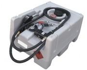Station de ravitaillement gasoil 125L sur batterie - Débit : 40 l.min - Dim. (Lxlxh) : 80x60x44 cm