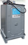 Station de ravitaillement gasoil - Capacités : 340 à 1000 L. - Débit : 45 L/min.