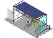 Station de recharge pour vélo électrique - Energie réseau ou solaire